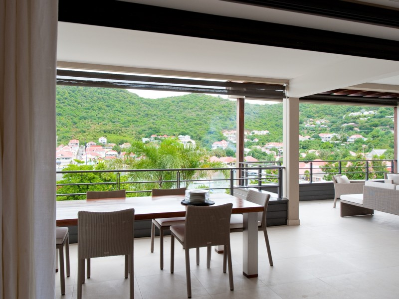 Apartement WAHOO 2 bed Gustavia Harbour View