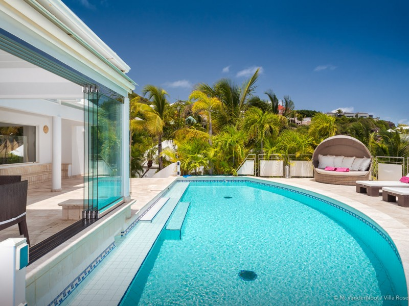 VILLA LA ROSE DES VENTS, Saint Barths, Grand Cul de Sac