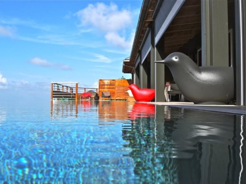 Loue grande villa avec piscine Lurin Saint Barth