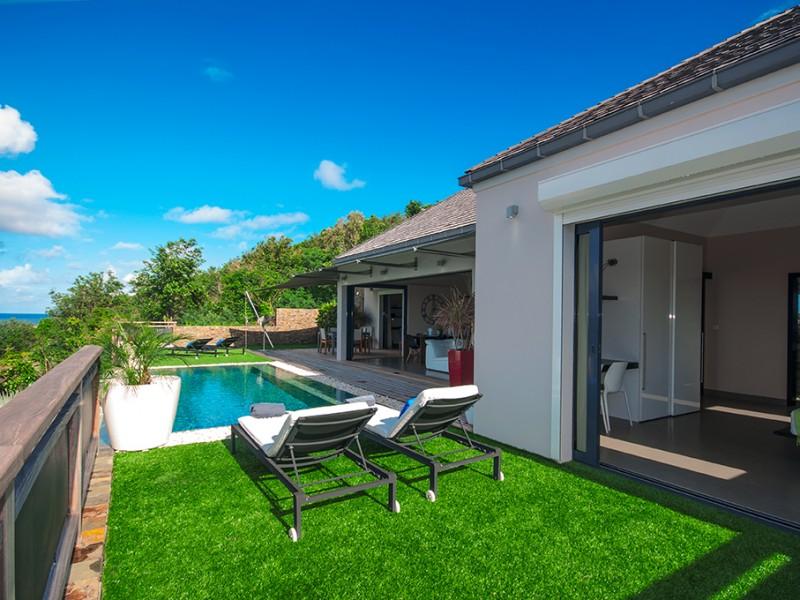 Villa piscine à louer Petit Cul de Sac