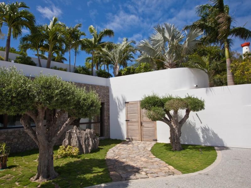 Location villa Gustavia