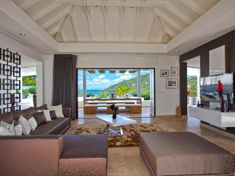 A louer villa 4 chambres à la semaine Saint Barth