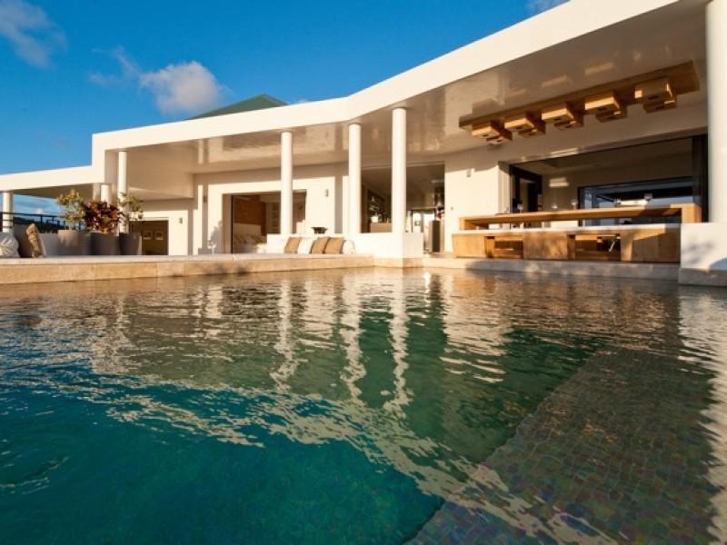 Villa de prestige à louer à Saint Barthélémy