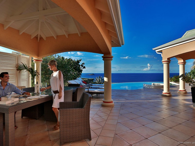 VILLA SEA BIRD, ST BARTH, Mont Jean