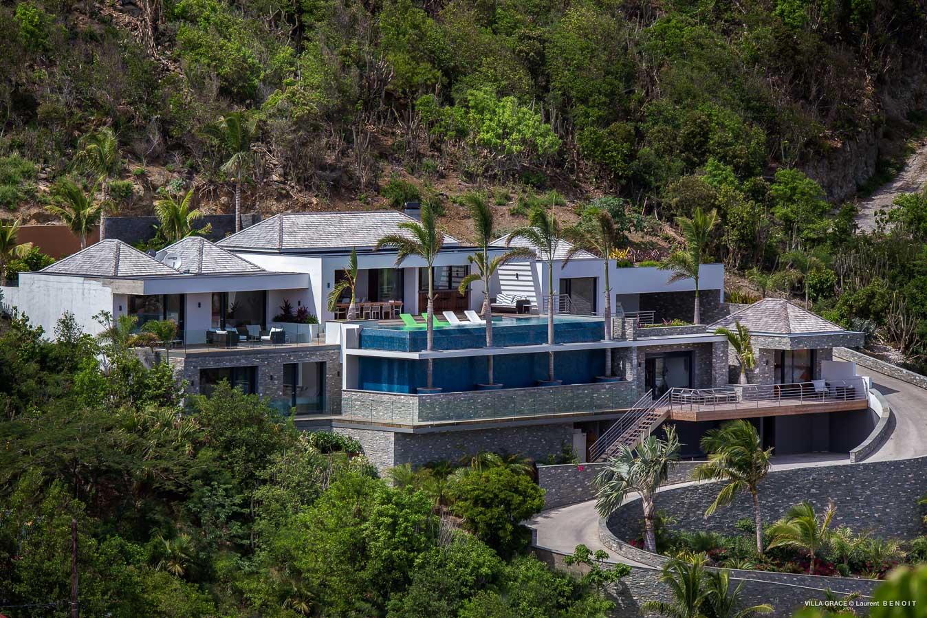 villa vacation rental 6 bedrooms st barth gustavia st barthelemy. Black Bedroom Furniture Sets. Home Design Ideas