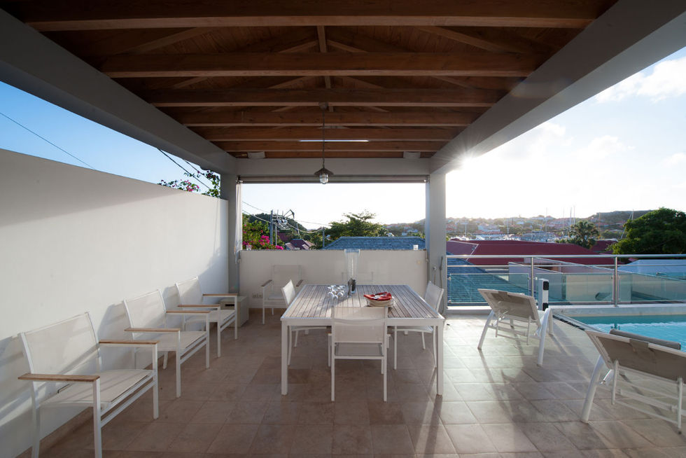 Location saisonni re maison 5 chambres st barth gustavia for Location maison 5 chambres