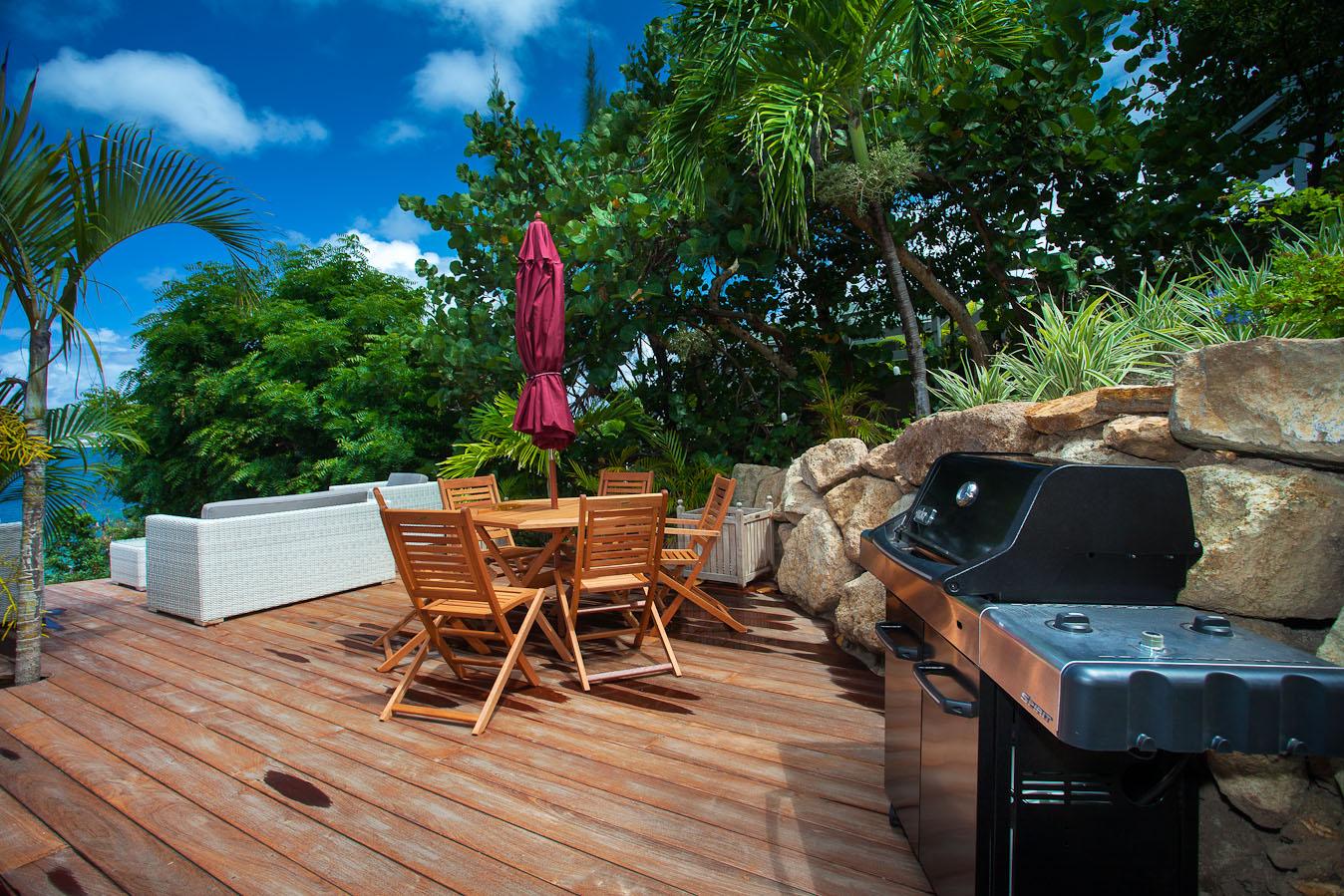 Location saisonni re villa 3 chambres st barth l my for Location saisonniere villa
