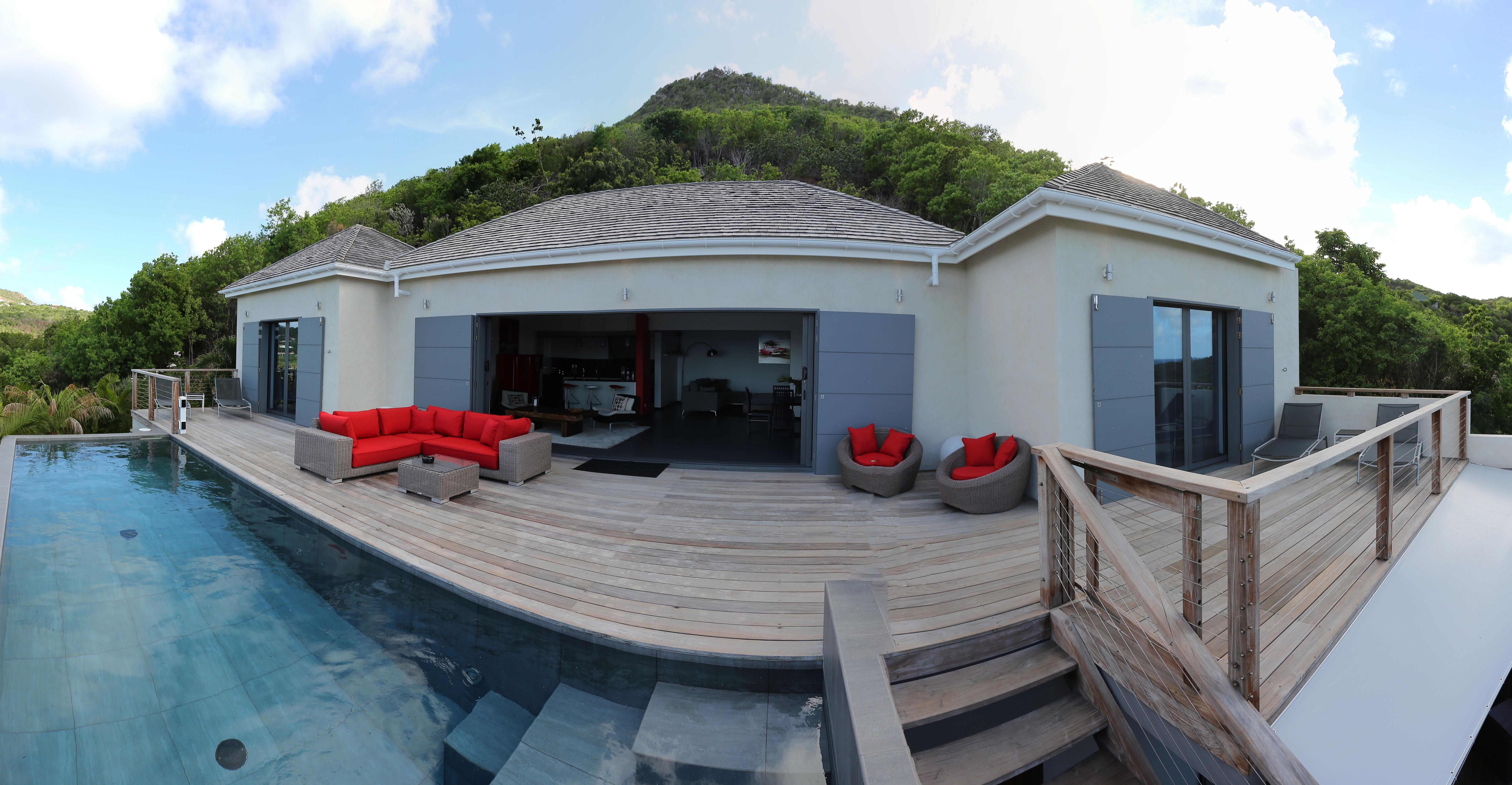 Location saisonni re villa 3 chambres st barth l my lorient for Piscine lorient moustoir