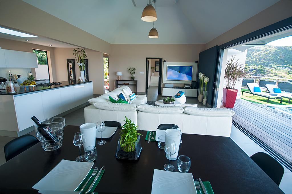 Location saisonni re 2 chambres st barts st barthelemy for Conception bureau open space