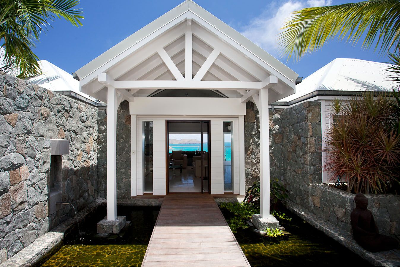 property seasonal rentals 4 bedrooms st barth, saint-jean st